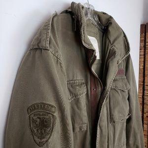 Aeropostale Army Green Airborne Utility Jacket